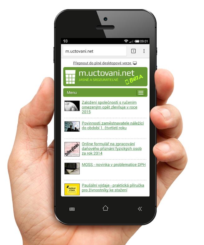 Výzva na proklik do desktopové verze z mobilní verze