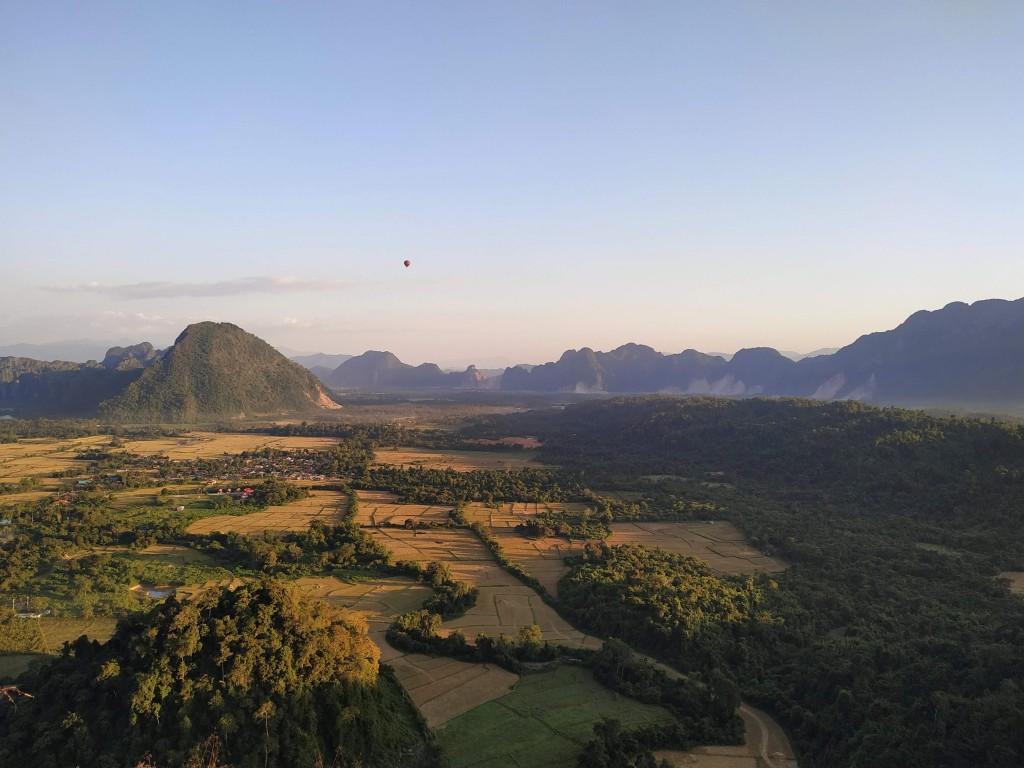 Nam Xay viewpoint Laos - Vang Vieng