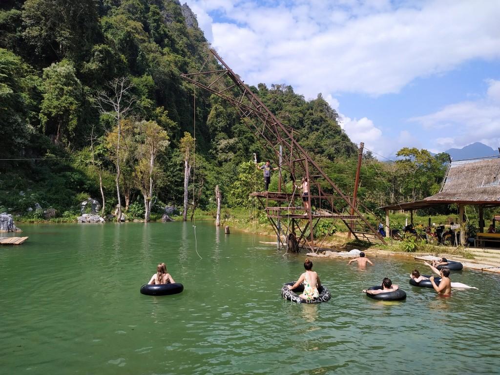 Blue Lagoon 4 Vang Vieng